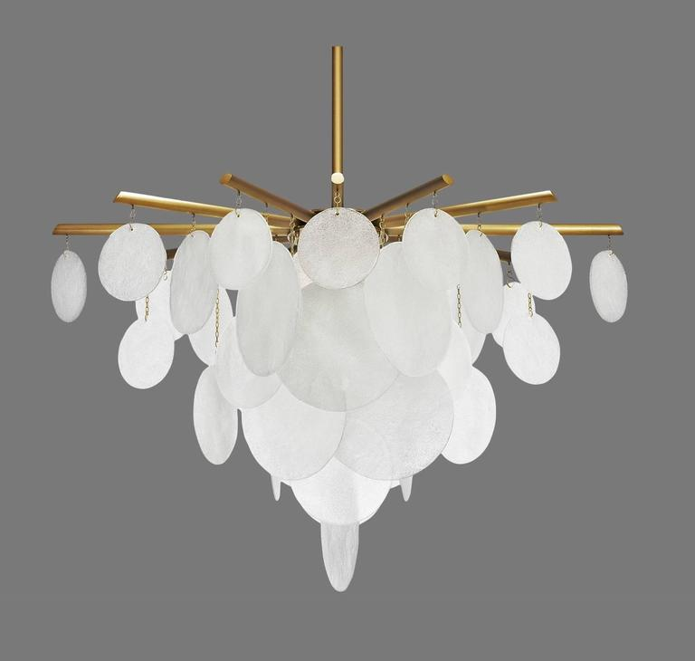 Nimbus Chandelier Light In Excellent Condition For Sale In Los Angeles, CA