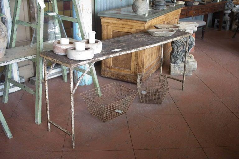 Metal Folding Potting/Garden Table For Sale 2