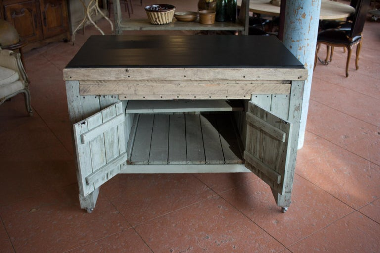 British Early 20th Century English Industrial Cabinet For Sale