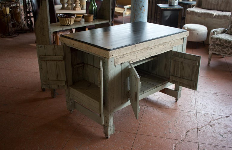 Early 20th Century English Industrial Cabinet For Sale 2