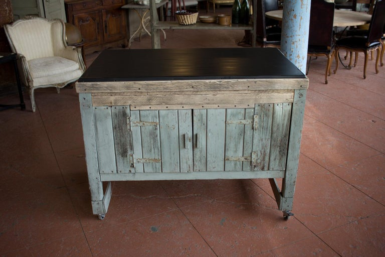 Early 20th Century English Industrial Cabinet For Sale 3