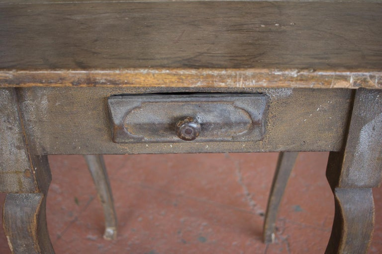 18th Century and Earlier Antique French Louis XV Side Table For Sale