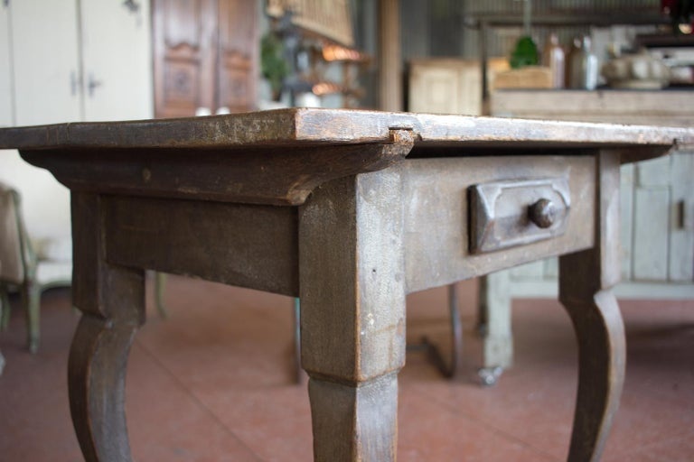 Antique French Louis XV Side Table For Sale 2