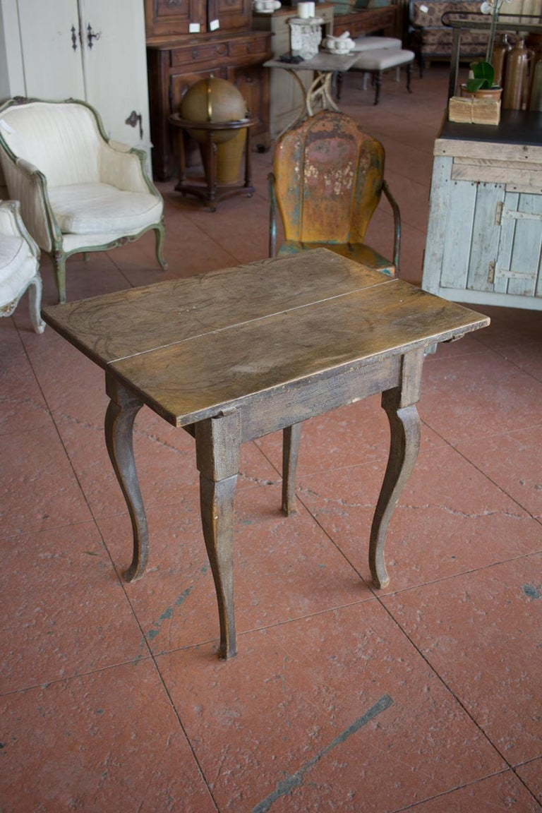 Antique French Louis XV Side Table For Sale 4