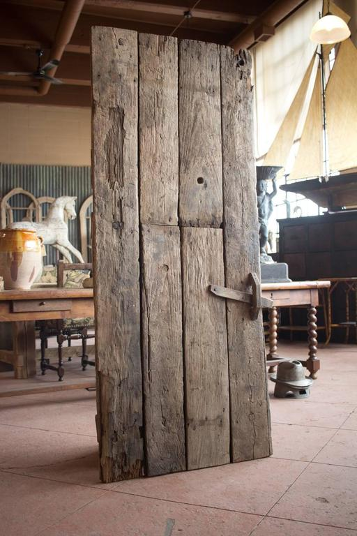 Ancient Oak French Farmhouse Door For Sale At 1stdibs
