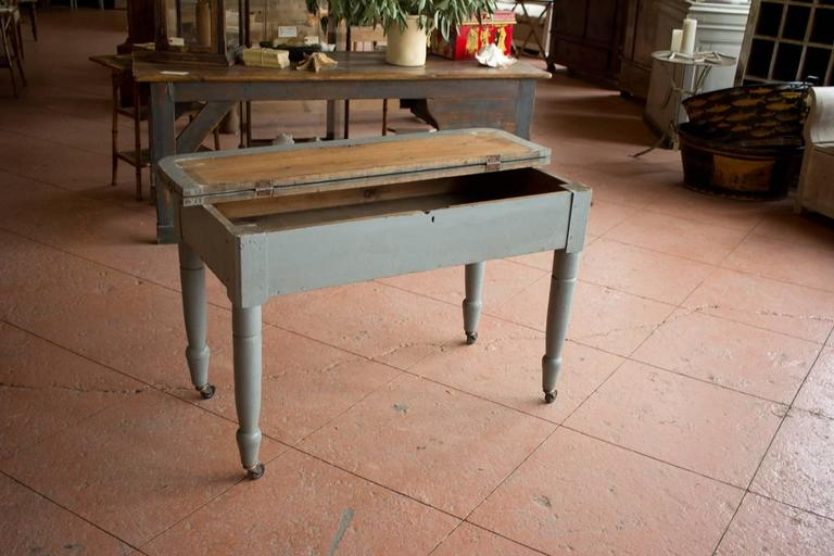 Antique American Mercantile Table At 1stdibs