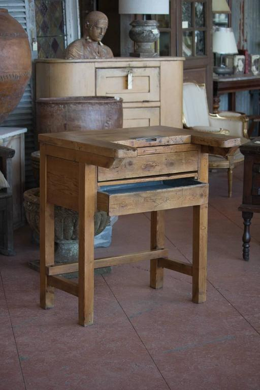 Rare Antique English Watchmaker S Desk At 1stdibs