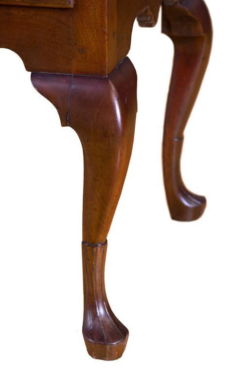 Fine Walnut Queen Anne Lowboy With Stocking Feet