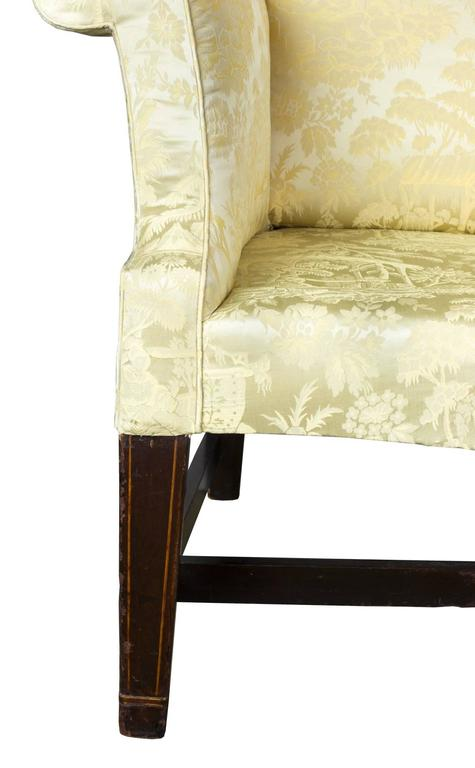 This Is A Fine, Comfortable Small Scale Wing Chair, With Classic  Philadelphia Wings