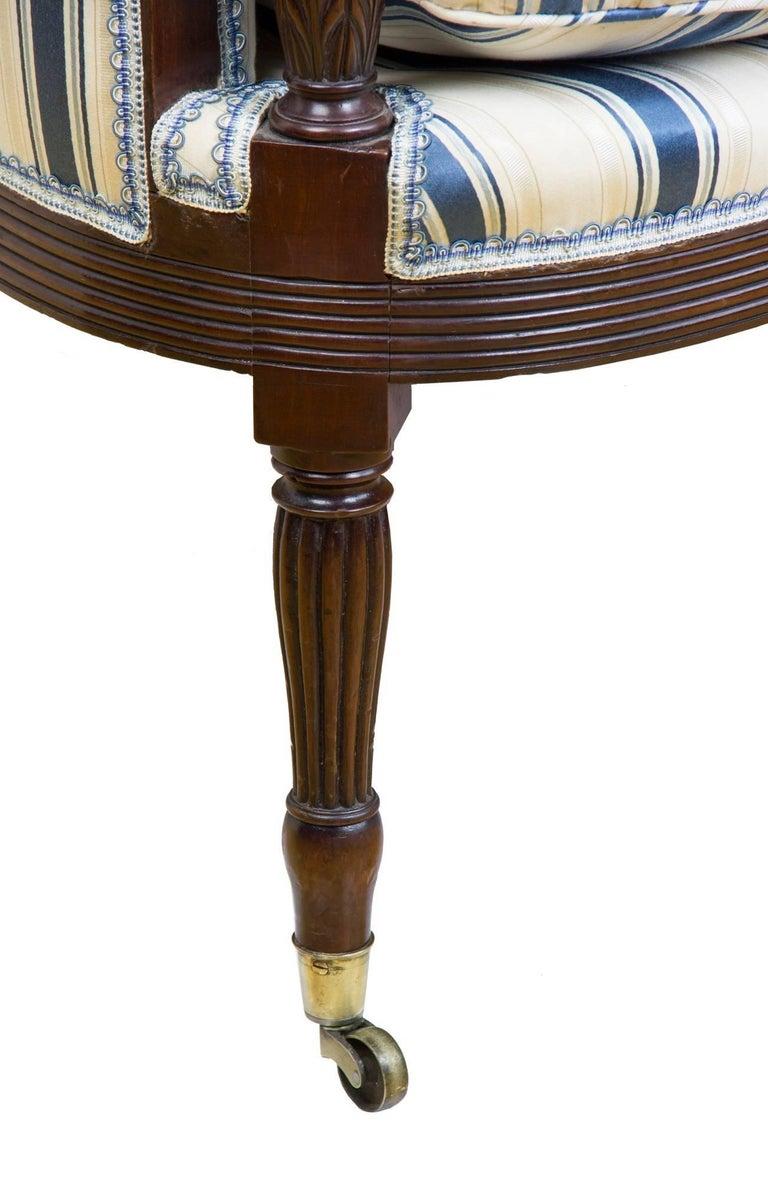 Classical / Federal / Sheraton Carved Mahogany Phyfe Sofa, New York, circa 1810 For Sale 2