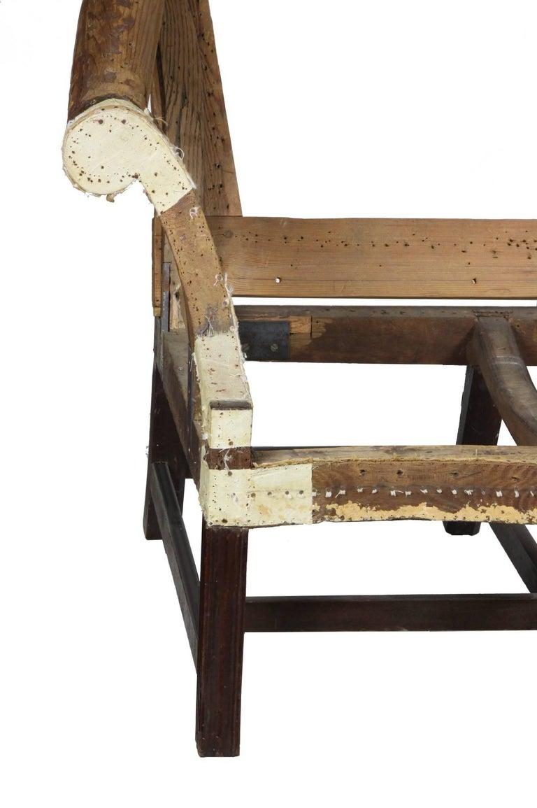 Fine Chippendale, Federal Mahogany Camelback Sofa, Philadelphia, circa 1780-1800 For Sale 2