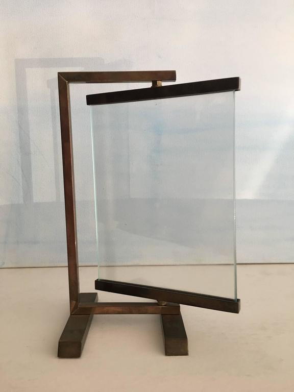 Vintage Brass Frame on Stand at 1stdibs