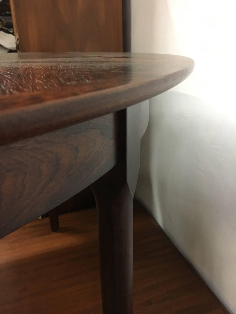 Danish Niels Otto Moller Expanding Rosewood Dining Table, circa 1960 For Sale