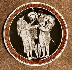 12 Inch Decorative Grecian Plate