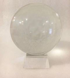 Crystal Ball on Acrylic Stand
