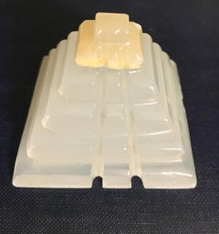 Onyx Pyramid Paper Weight