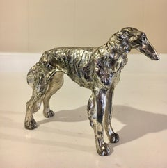 Afghan Dog Sculpture Paper Weight