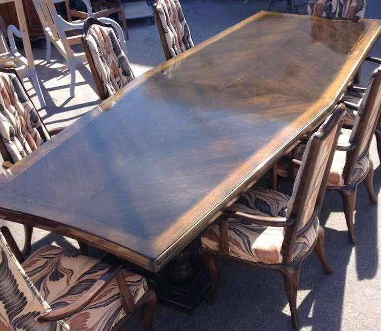 Wood Monteverdi Young by Maurice Bailey Dining or Conference Table For Sale
