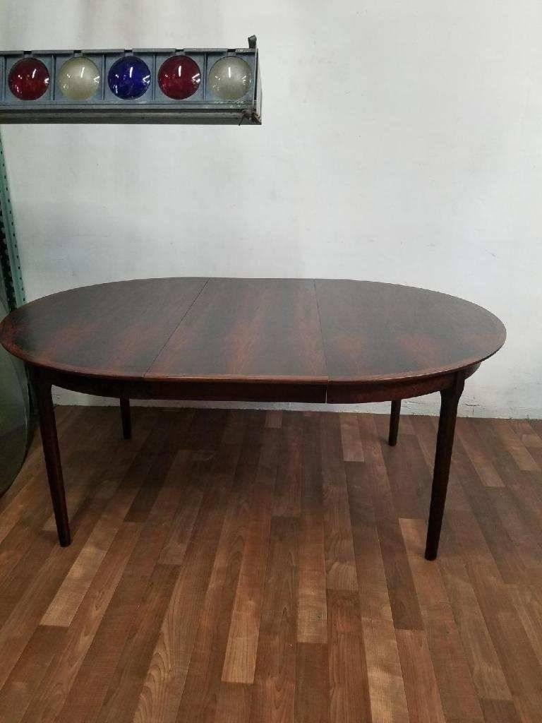 Niels Otto Moller Expanding Rosewood Dining Table, circa 1960 For Sale 4