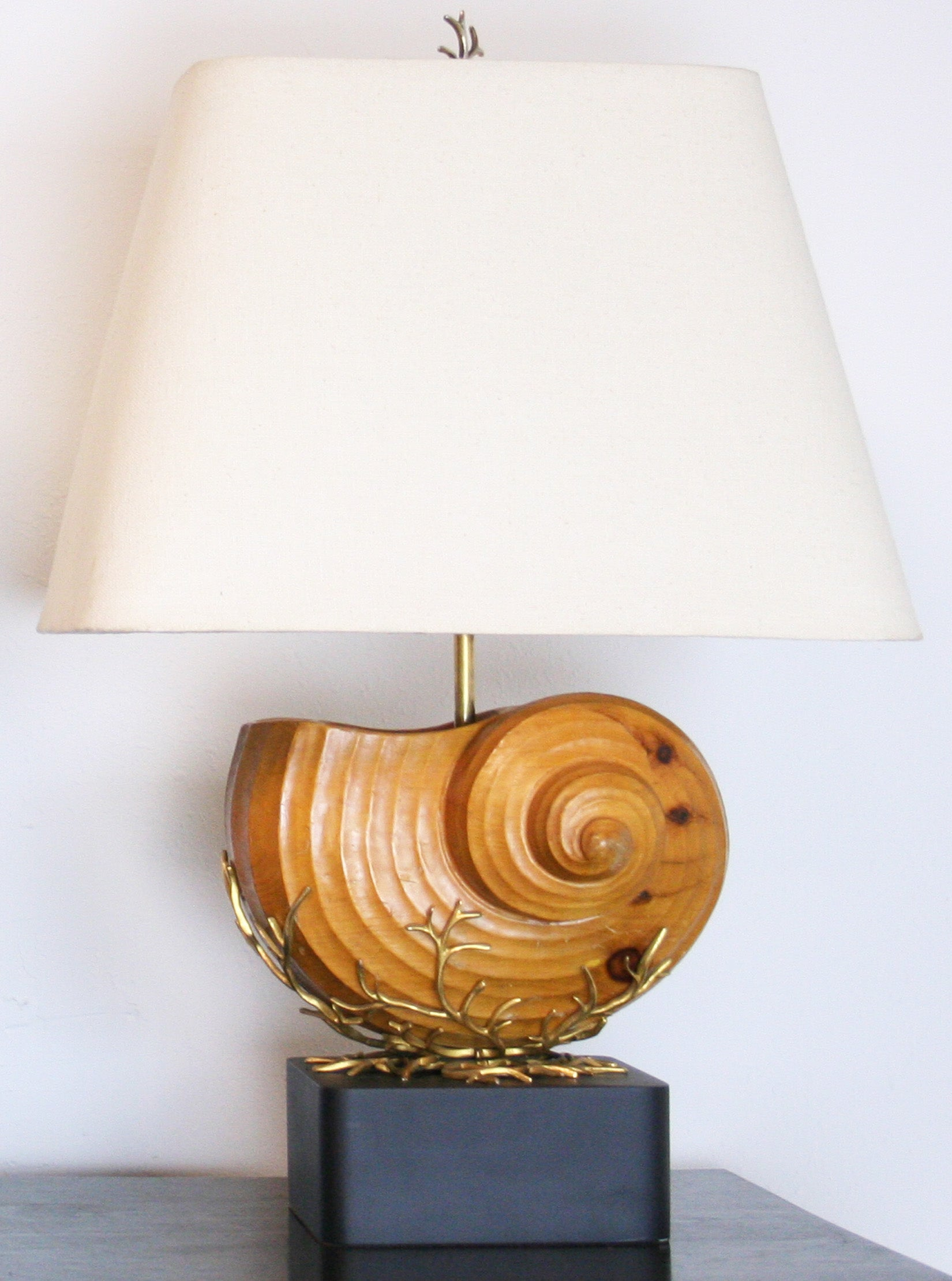 pearl pier of table base plus capiz shell lamp one mother lamps
