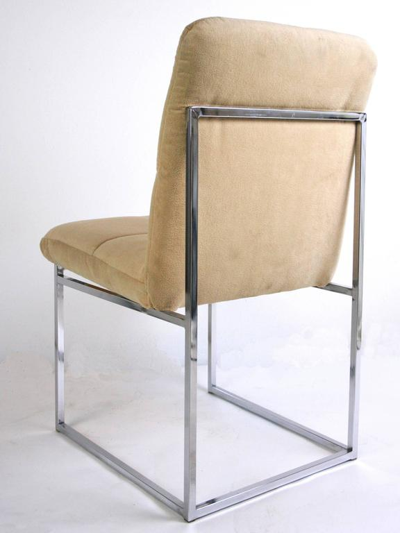 American Pair of Cal-Style Side Chairs For Sale