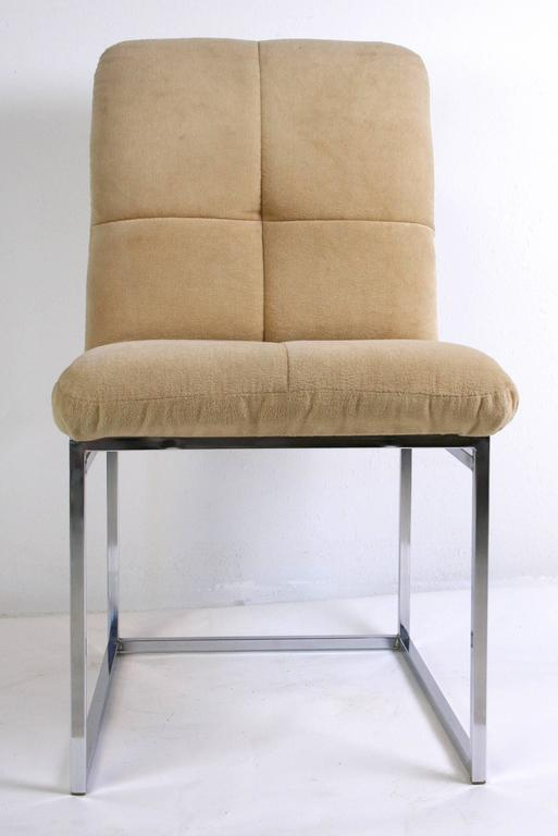 Mid-Century Modern Pair of Cal-Style Side Chairs For Sale