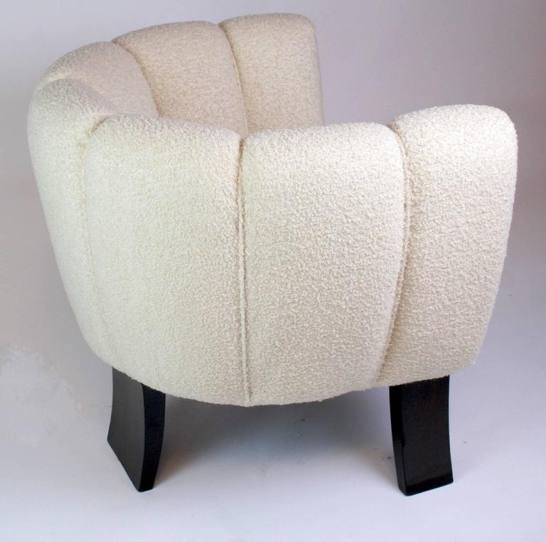 Pair of Guglielmo Ulrich 1930s Art Deco Club Chairs 5