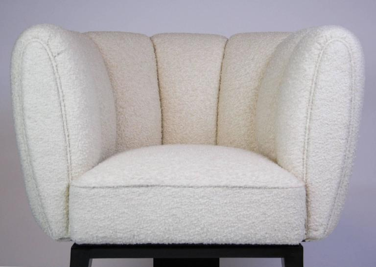 20th Century Pair of Guglielmo Ulrich 1930s Art Deco Club Chairs For Sale