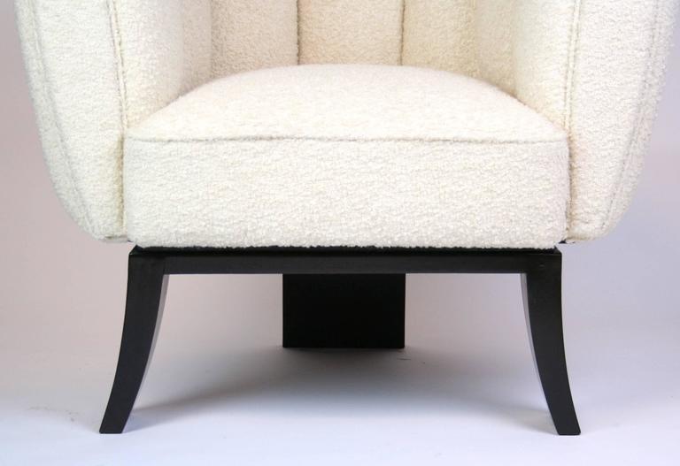 Pair of Guglielmo Ulrich 1930s Art Deco Club Chairs 7