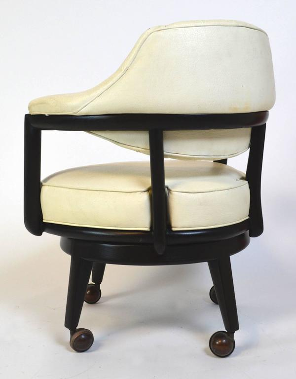 American Pair of Monteverdi-Young Swivel Chairs For Sale