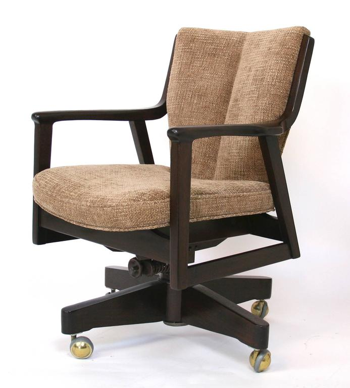 Mid century modern desk chair for sale at 1stdibs for Modern office desk for sale
