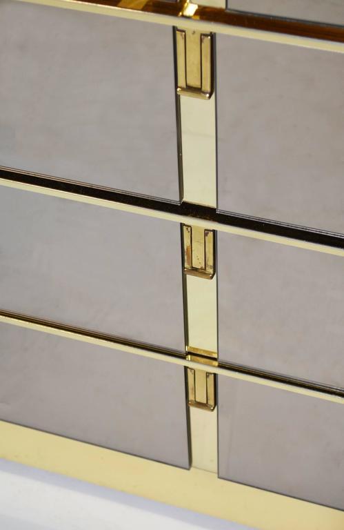 Bronze mirrored bar cabinet by ello for sale at 1stdibs for Sellaro arredamenti