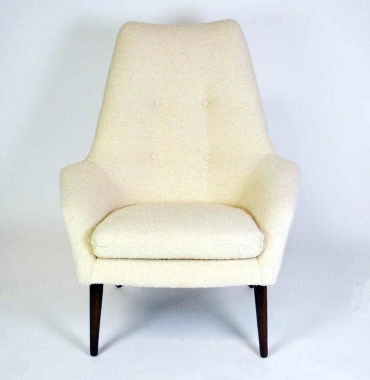 Mid-Century Modern Danish Lounge Chair In Good Condition For Sale In Palm Springs, CA