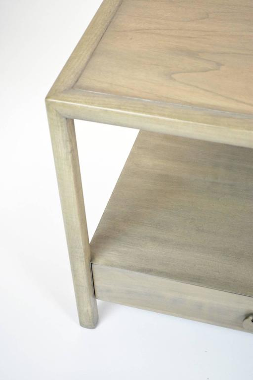 Michael Taylor for Baker End Table In Good Condition For Sale In Palm Springs, CA