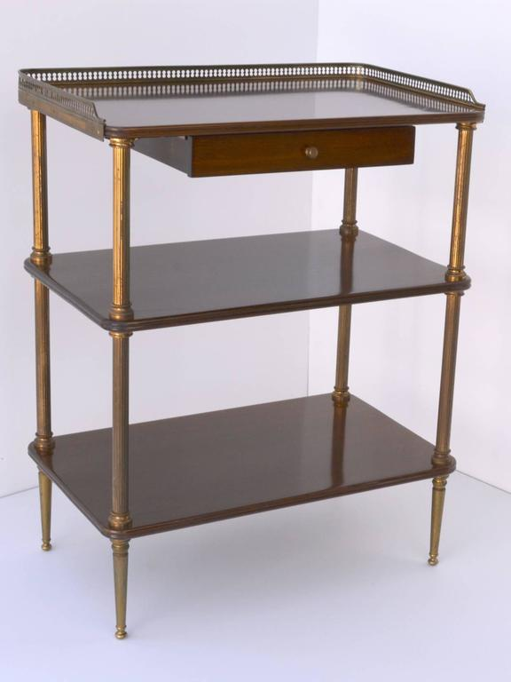 Pair of 1940s French Side Tables In Good Condition For Sale In Palm Springs, CA