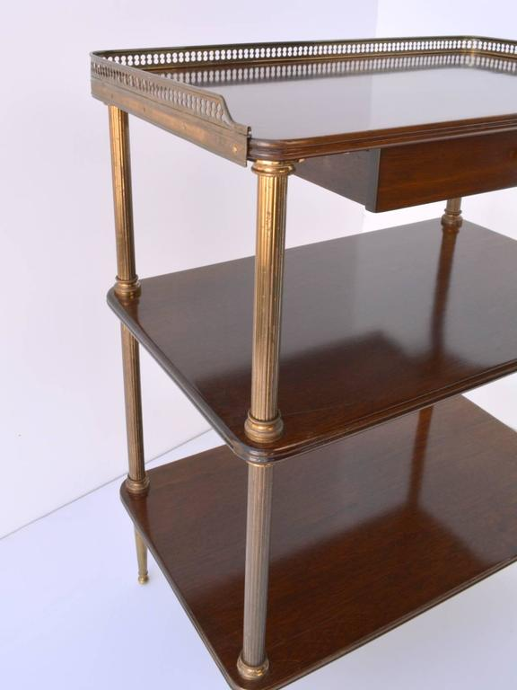 Pair of 1940s French Side Tables For Sale 1