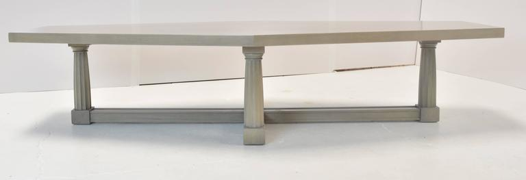 American 1960s Hollywood Regency Coffee Table For Sale