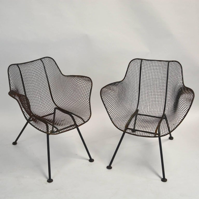 Pair Of Russell Woodard Sculptura Chairs For Sale At 1stdibs