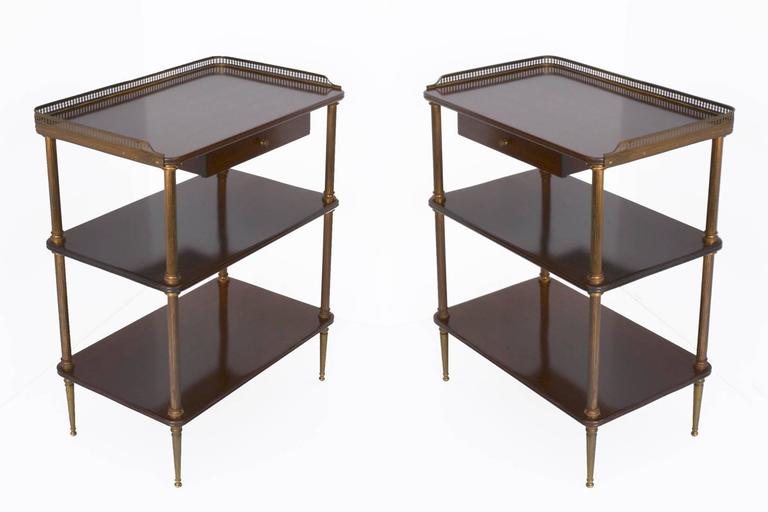 Pair of 1940s French Side Tables For Sale 2