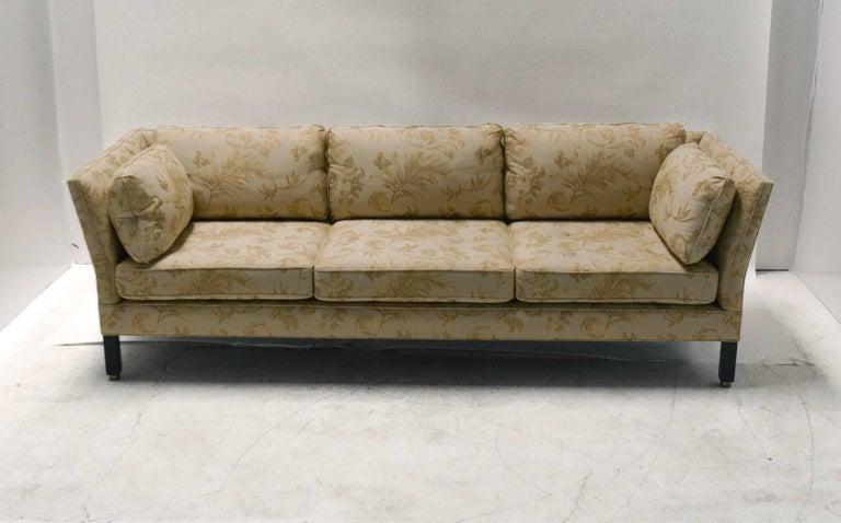 Dunbar Mid-Century Modern Sofa by Edward Wormley For Sale 3