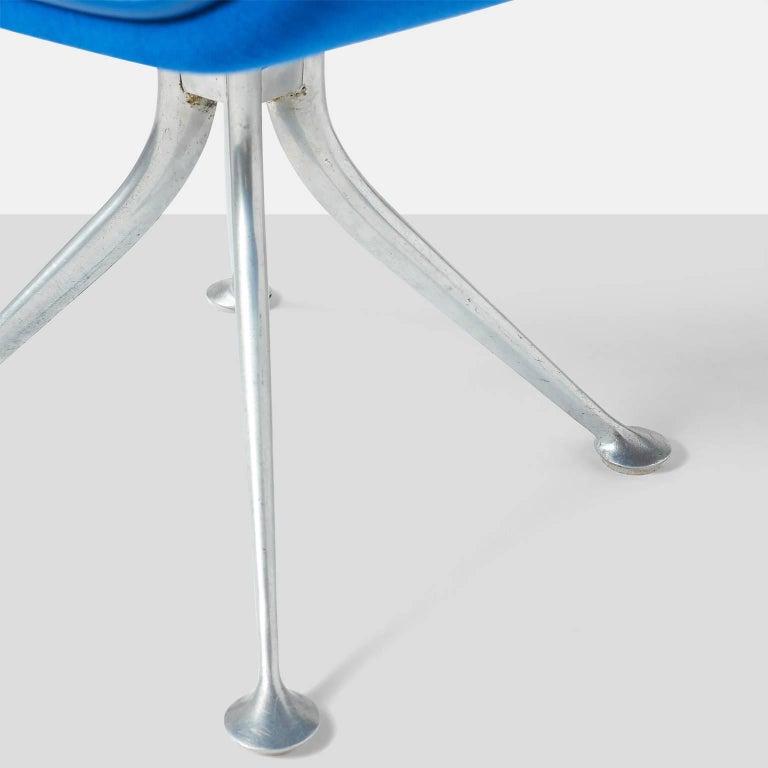 Aluminum Alexander Girard Armchair For Sale