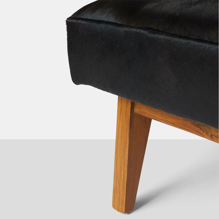 Mid-20th Century Pierre Jeanneret Bench for the High Court For Sale