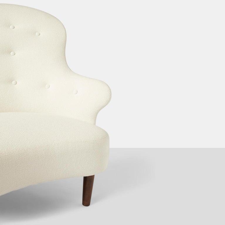 Beech Swedish Chaise Lounge For Sale