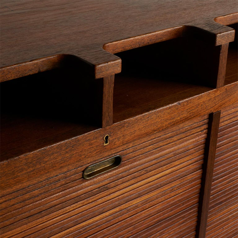 Mid-20th Century Palle Suenson, Two Part Wall Cabinet For Sale