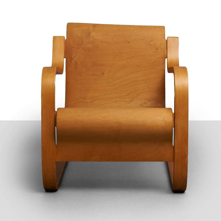 Alvar Aalto Cantilever Chair, Model 31 In Excellent Condition For Sale In San Francisco, CA