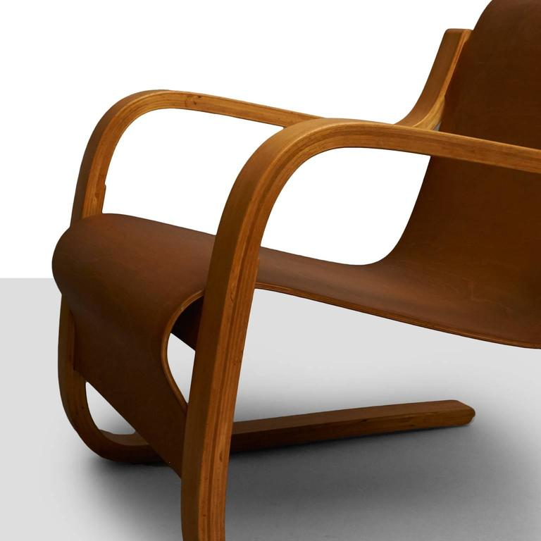 Laminated Alvar Aalto Cantilever Chair, Model 31 For Sale