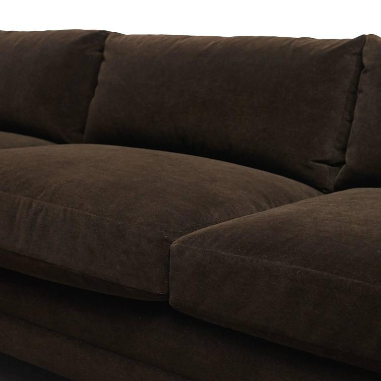 Harvey Probber, Tuxedo Sofa For Sale 1