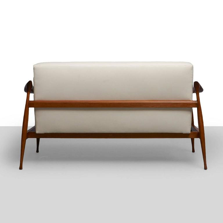 Ico Parisi 'Lord' Settee In Excellent Condition For Sale In San Francisco, CA