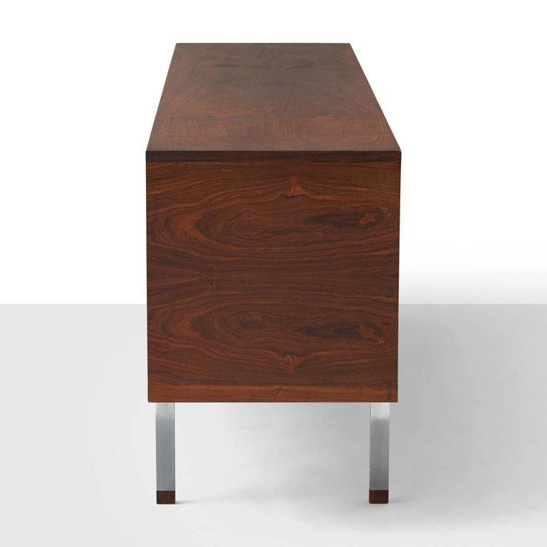 Danish Hans Wegner, Low Rosewood Sideboard For Sale
