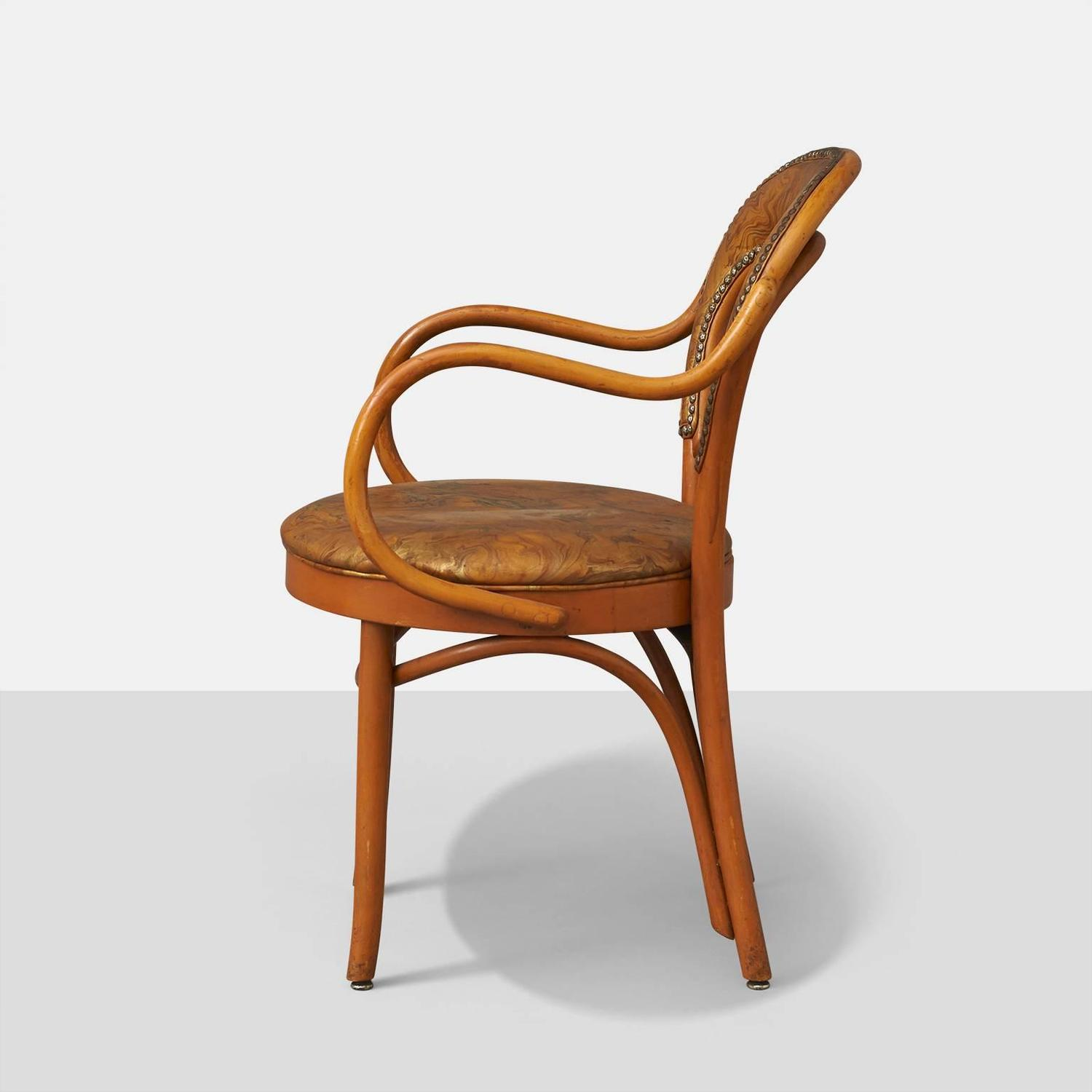 Shelby Williams Set Of Eight Bistro Chairs At 1stdibs